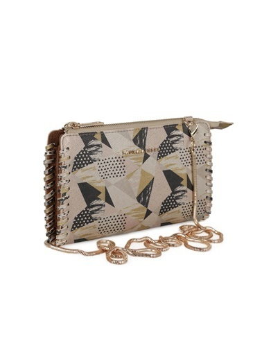 Laura Ashley Clutch / El Çantası Altın
